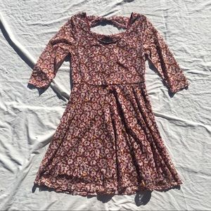 ☔️2 for $20 ☔️ Floral Skater Dress